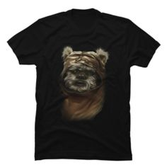 Shop Wicket the Ewok by StarWars available as a T Shirt. Star Wars Store, Star Wars Outfits, Ewok, Star Wars Tshirt, Cool Tees, Streetwear Fashion, Black Men, Tank Man, Graphic Tees