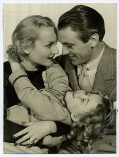 Now and Forever - Shirley Temple, Carole Lombard and Gary Cooper