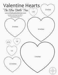 Heart Printable ClipArt Valentine Hearts Clip Art, in sizes ranging from to printing on either letter or sized paper.Valentine Hearts Clip Art, in sizes ranging from to printing on either letter or sized paper. Printable Heart Template, Bow Template, Applique Templates, Printable Hearts, Templates Free, Heart Shapes Template, Alphabet Templates, Butterfly Template, Leaf Template