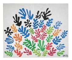 part of an incredible collage series! Henri Matisse, The Sheaf, 1953