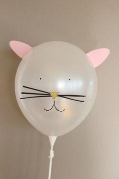 Cat balloon www. Cat Balloon, Balloons, Kitty, Cats, Ideas, Little Kitty, Globes, Gatos, Kitty Cats