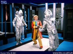 """The Sixth Doctor is trapped in CyberControl. Attack of the Cybermen"""