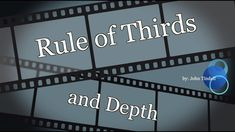 This video looks at film composition by explaining how rule of third and depth are used in cinematography. Film Composition, Rule Of Three, Screenwriting, Cinematography, Filmmaking, Storytelling, Third, College, Neon Signs