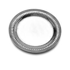 Flutes & Pearls Large Round Tray - Flutes & Pearls - Collections
