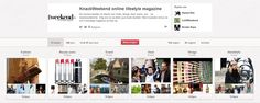 Communicatie pinterest account van het tijdschrift Knack http://www.pinterest.com/knackweekend/