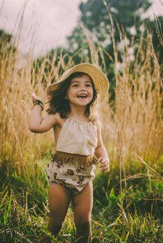 Handmade Boho Toddler Romper | TwolittlesandLou on Etsy