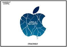 APPLE SECURITY | Mar/29/16 Cartoon by Bob Gorrell -