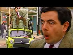 Mr Bean hits the January sales to buy himself a new armchair! How things speed up pretty quickly after Mr Bean ties the armchair to the roof of his mini! Mr Bean Movie, Mr Bean Funny, Ben Elton, Richard Curtis, Blackadder, Young Ones, Funny Me, Full Episodes, How To Find Out