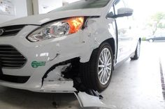 Have a situation like this on your hands? Our I-CAR Gold Certified staff can help!  Give us a call at 760.741.5766 to book your appointment today!  #collisoin #repairs #accidents