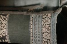 Image of limited edition | indonesian blues ikat pillows