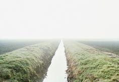 Luigi Ghirri, Roncocesi, 1992. Unprinted colour negative 6×7 cm. The last photograph taken by the artist