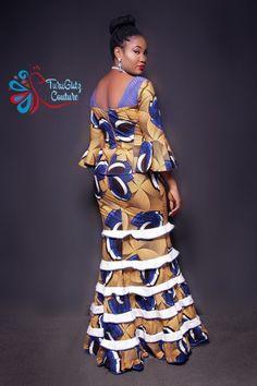 Unique Ankara Dresses 55 Stylish Ankara Styles For Single Ladies African Fashion Ankara, Latest African Fashion Dresses, African Dresses For Women, African Print Fashion, African Wedding Attire, African Attire, Ankara Short Gown Styles, Shweshwe Dresses, African Traditional Dresses