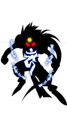 Zenki Transformation by on DeviantArt Chinese Symbol Tattoos, Chinese Symbols, Popular Anime, Pop Culture, Tattoo Ideas, Darth Vader, Batman, Kawaii, Sailor Moon Manga