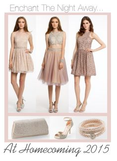 """Enchant The Night Away- Homecoming 2015!"" by camillelavie on Polyvore featuring modern"
