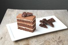 I dont know who I will marry, but she will love chocolate as well as hazelnut. And so I will make her this cake.
