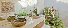 Bali Stone Bathroom, House & Garden