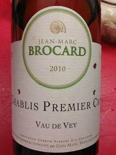 Brocard Chablis Premier Cru 2010