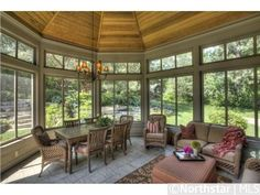 Sunroom / screened in porch ---  4924 Green Farms Circle, Edina, MN 55436