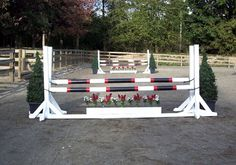 Make Easy, Affordable Horse Jump Decor | PracticalHorsemanMag.com