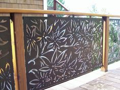 Laser Cut Metal Wall Art Outdoor Screens – Welcome to Laser Move Merchandise, Inc. Laser Cut Screens, Laser Cut Panels, Laser Cut Metal, Laser Cutting, Tor Design, Fence Design, Balcony Railing Design, Outdoor Metal Wall Art, Outdoor Walls