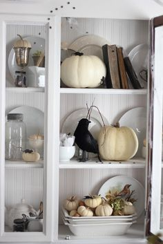 Halloween Hutch. Monochrome is always nice.