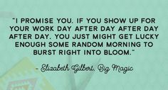 Elizabeth Gilbert, Big Magic