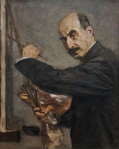 Max Liebermann · Autoritratto · 1908 · Wallraf Richartz Museum · Köln