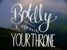 """""""Boldly I Approach (The Art of Celebration)"""" by Rend Collective"""