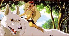 """Princess Mononoke"" (a scene from the film) Hayao Miyazaki, Isao Takahata, Studio Ghibli Movies, My Neighbor Totoro, Geek Girls, Illustrations And Posters, All Anime, Animation Film, Movies Showing"