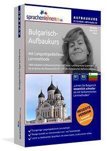 Bulgarisch Aufbaukurs CD-ROM & MP3 Audio CD