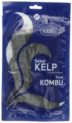Seaweed Iceland Sweet Kelp, Royal Kombu, Raw, 1.76 Ounce ** Trust me, this is great!: at baking desserts recipes.