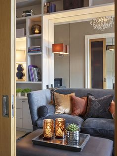 Masterfully Modern Rooms, Cyber Monday (Two Amazing Steals) Living Room Modern, Home Living Room, Living Area, Custom Made Furniture, Beautiful Interior Design, Shelf Design, Furniture Inspiration, Cyber Monday, Interior Decorating