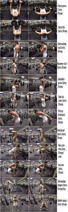Dumbbell Full Body Workout Routine
