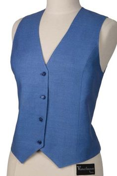 248405706f8774 Ladies Raw Silk Smooth Navy Vest - Vests by Charlotte Smooth