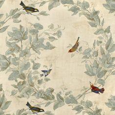 Heritage House Windsong Ivory Fabric - Image 1