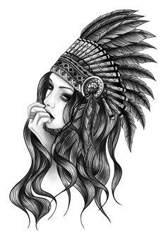Indian Women Tattoo, Indian Girl Tattoos, Indian Tattoo Design, Cute Tattoos, Hand Tattoos, Tattoos For Guys, Sleeve Tattoos, Tattoos For Women, Tatoos