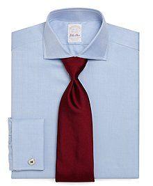 Golden Fleece® Non-Iron Regular Fit Textured French Cuff Shirt - Brooks Brothers