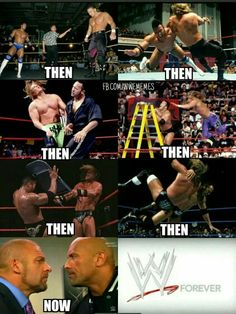 The Rock & Triple H| In my opinion, the greatest rivalry EVER in wrestling. Period.