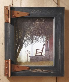 Barn Door Wall Art  Take pics of farm/kids and make frames from old wood for them