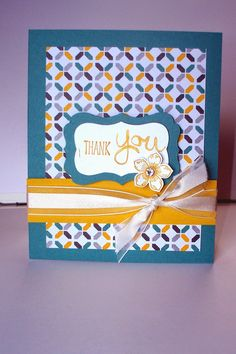 Stampin Up!  Moonlight Designer Series Paper Stack, Lost Lagoon, Hello Honey, Petite Petals, CCC04
