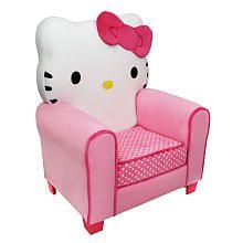 """$130 Hello Kitty Icon Chair - Harmony Kids - Toys """"R"""" Us"""