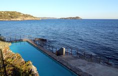 Hyeres & Giens - Pool by the sea at Hotel Provencal