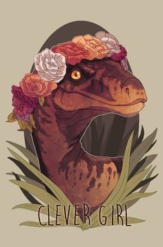 """""""Clever Girl"""" by Maarta Laiho on INPRNT"""