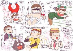 「おそ松さんまとめ3」/「こけし」の漫画 [pixiv]