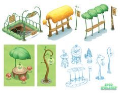 the art of mary shu: Game Props and Promo Art
