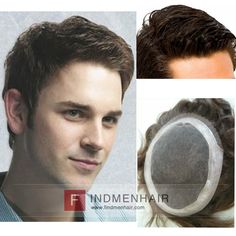 2016 The Trendiest Full Swiss Lace With Pu Around Thinning Hair Styles Handsome Mens Wigs And Hairpieces Online UK