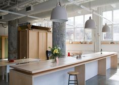 Former pencil factory converted into a shared workspace for Brooklyn's creative entrepreneurs.