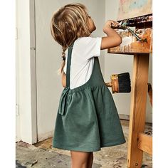 Gray Label | Pinafore Dress - Dresses - Girls - Shop