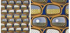 Afbeeldingsresultaat voor African wax printed fabric from Vlisco Holland