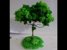 Paper tree miniature ideas for 2019 Recycled Crafts, Handmade Crafts, Henna Designs For Men, Palm Tree Drawing, Pine Tree Tattoo, Flower Video, Dark Art Drawings, Cement Crafts, Paper Tree